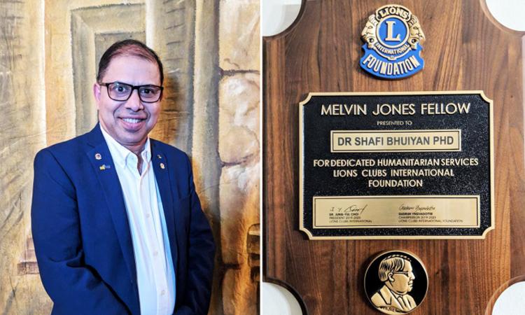 Photo of ড. সাফি কানাডায় মেলভিন জোনস ফেলো নির্বাচিত