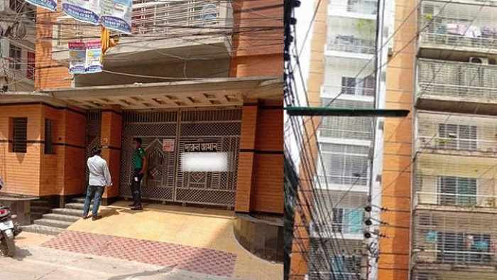 Photo of মিরপুরে একটি ভবন লকডাউন