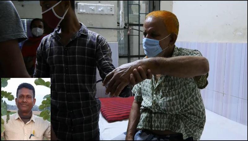 Photo of বরগুনায় শশুরকে পেটালেন ইউপি সদস্য