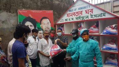 Photo of ঢাকার শ্যামপুর-কদমতলীতে সাইফুলের এাণ বিতরন অব্যাহত