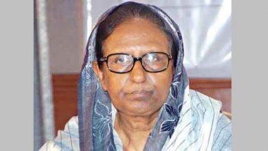 Photo of হাসপাতালে ভর্তি সাহারা খাতুন