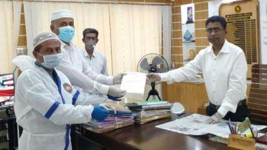 Photo of শরীয়তপুরে জেলা প্রশাসকের কাছে কৃষকদলের স্মারকলিপি প্রদান