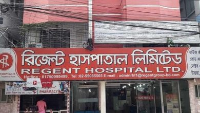 Photo of রিজেন্ট হাসপাতালের মিরপুর শাখাও সিলগালা