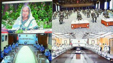 Photo of সশস্ত্র বাহিনীর বিভিন্ন পদে দেশপ্রেমিকরাই যেন দায়িত্ব পান: প্রধানমন্ত্রী