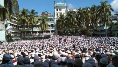 Photo of তীব্র গরম উপেক্ষা করে লাখো মানষের অংশগহণে আল্লামা শফী'র জানাজা সম্পন্ন