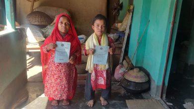 Photo of বেবী ও মরিয়ম দুই বোনকে প্রতিবন্ধী ভাতার কার্ড দিলেন মেয়র জামিল হোসেন চলন্ত