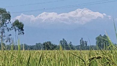 Photo of বাংলাদেশ থেকে দেখা যাচ্ছে কাঞ্চনজঙ্ঘা
