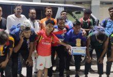Photo of বাঘারপাড়া ফুটবল ম্যাচে বেনাপোলের আলহাজ্ব নুর ইসলাম একাডেমীর বিজয়