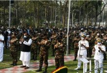 Photo of পিলখানায় শহীদ সেনাসদস্যদের শোক আর শ্রদ্ধায় স্মরণ